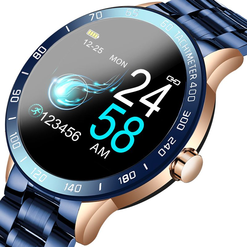 Metal Smart Watch with LED Screen