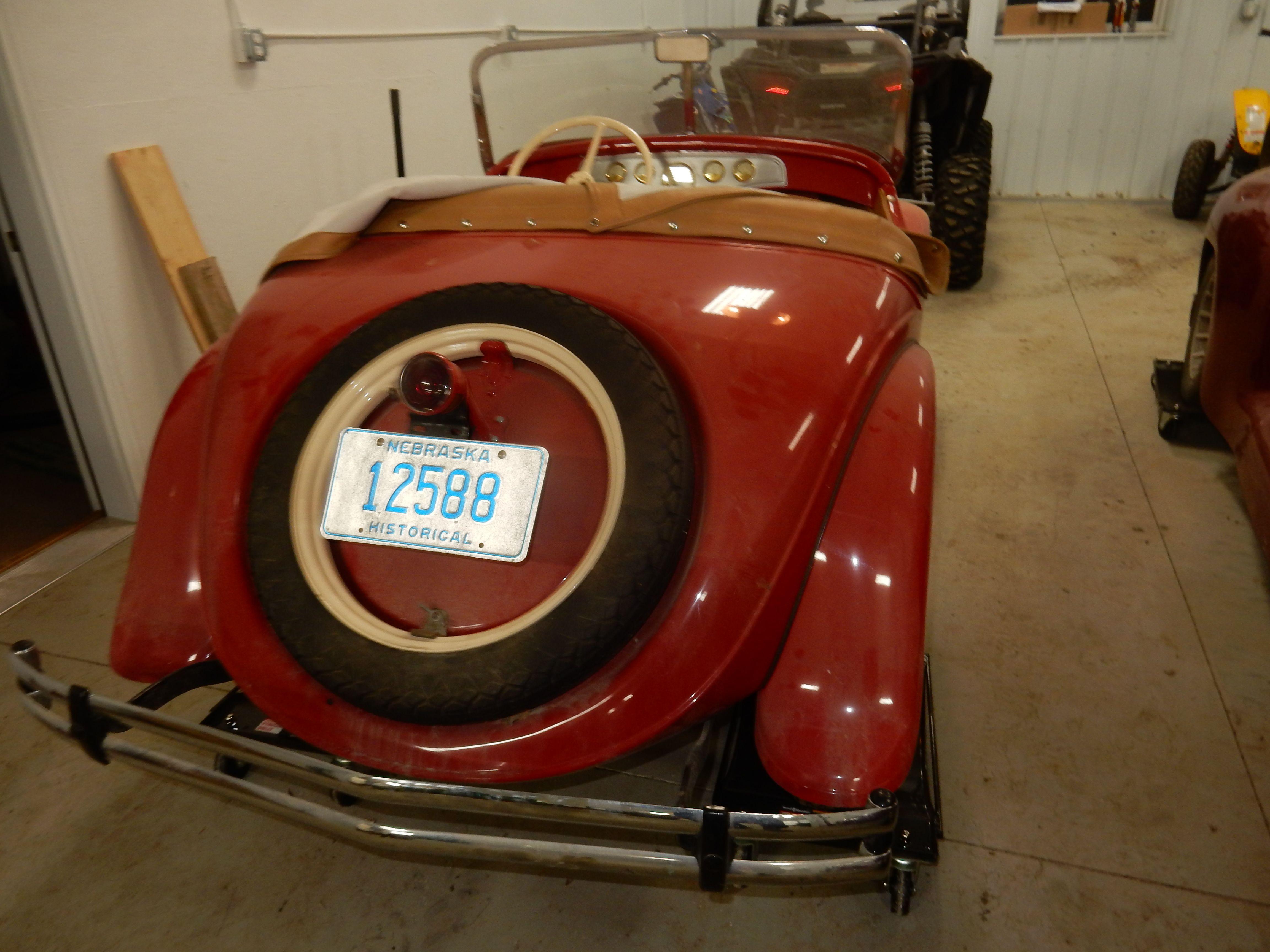 1931 American Austin Roaster - Nebraska - Rear 3/4 View - Restored ...