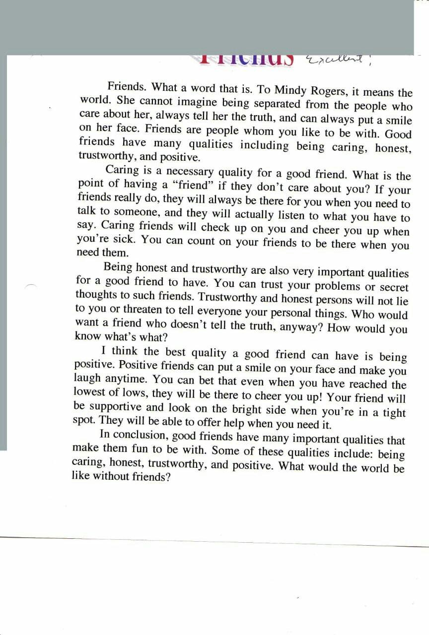 Pin By Rose Malika On Essay Writing A Persuasive Friendship