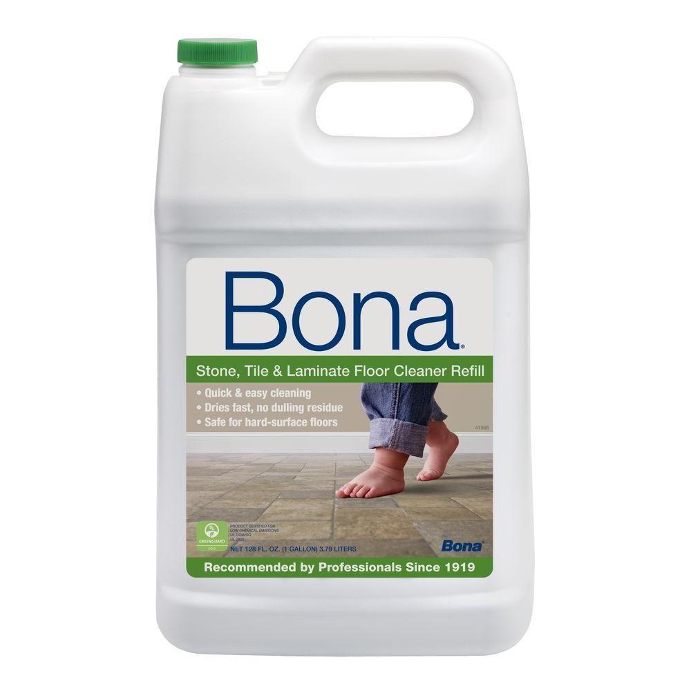 Bona 128 Oz Hard Surface Floor Cleaner Wm700018172 The Home Depot Clean Laminate Floor Cleaner Wood Laminate Flooring