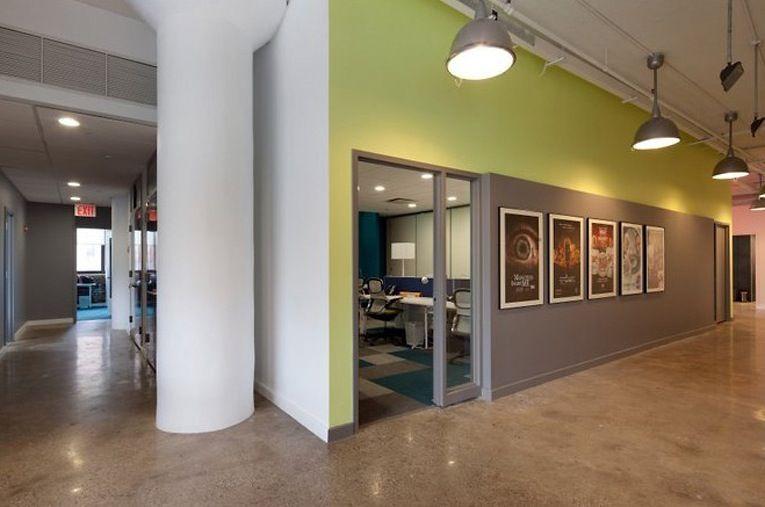 Concrete Office Floors
