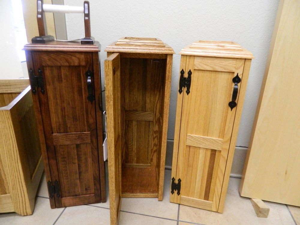 Toilet Paper Storage Cabinet Solid Wood Wood Storage Cabinets Toilet Paper Storage Paper Storage