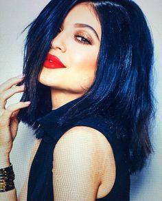 blue hair on pinterest dark blue hair midnight blue hair and - Midnight Blue Black Hair Color