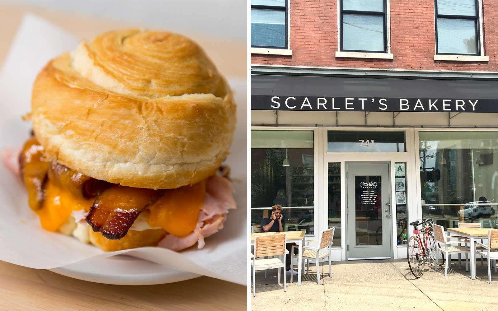 Scarlet's Bakery, in Louisville Courtesy of Scarlet's