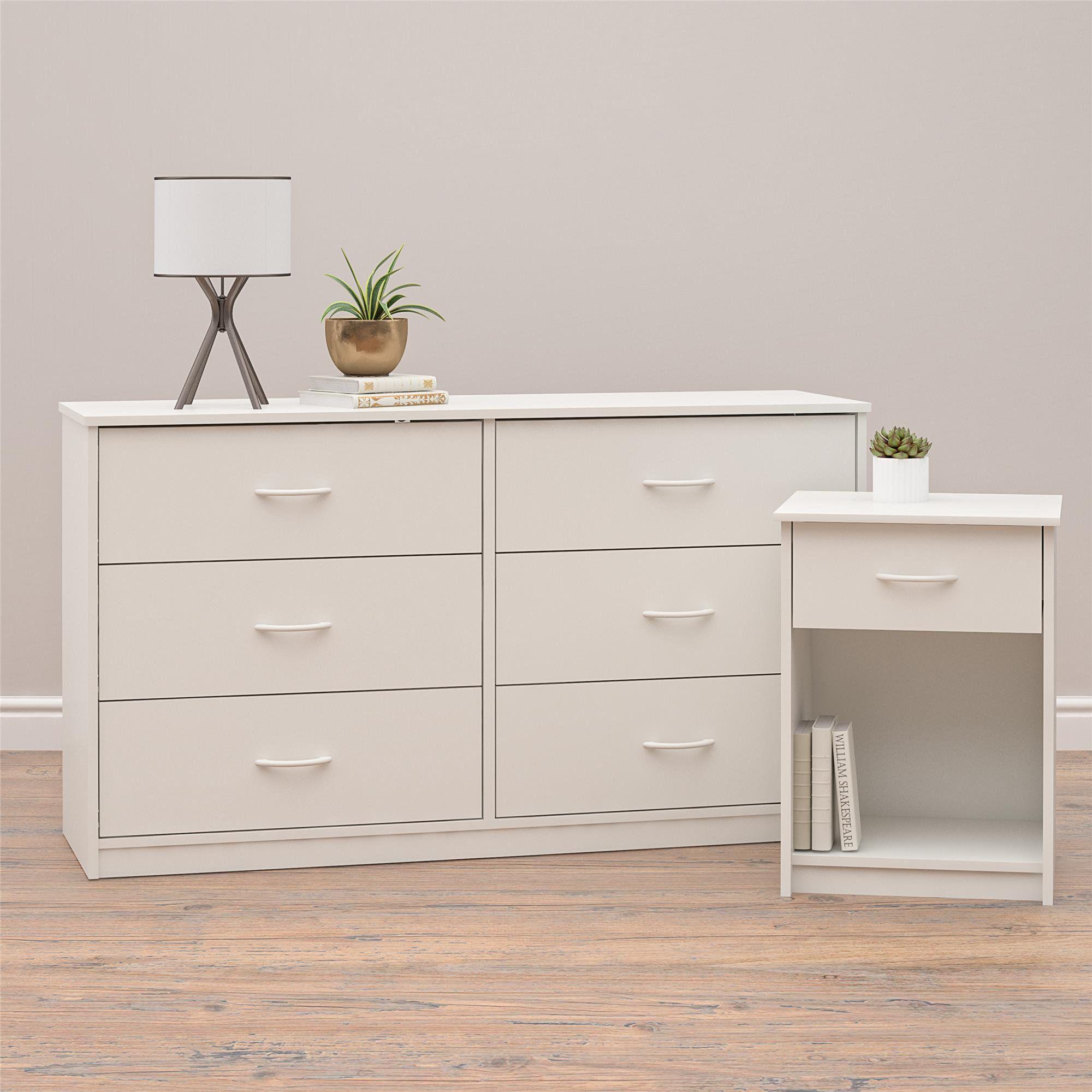 Mainstays Classic 6 Drawer Dresser White Finish Walmart Com In 2021 Dresser Drawers 6 Drawer Dresser Drawers [ 2000 x 2000 Pixel ]