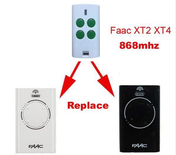 2018 New Garage Door Remote Control 868mhz For Faac Xt2 Xt4 868 Slh