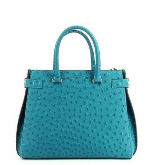 Collezione borse VBH: prezzi e modelli delle celebrities' bags VBH tote bag in pelle di struzzo