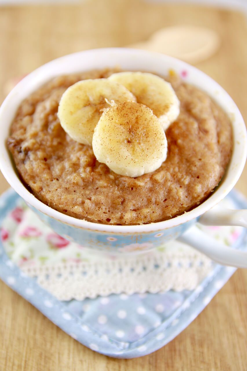 Microwave Peanut Er Banana Mug Cake