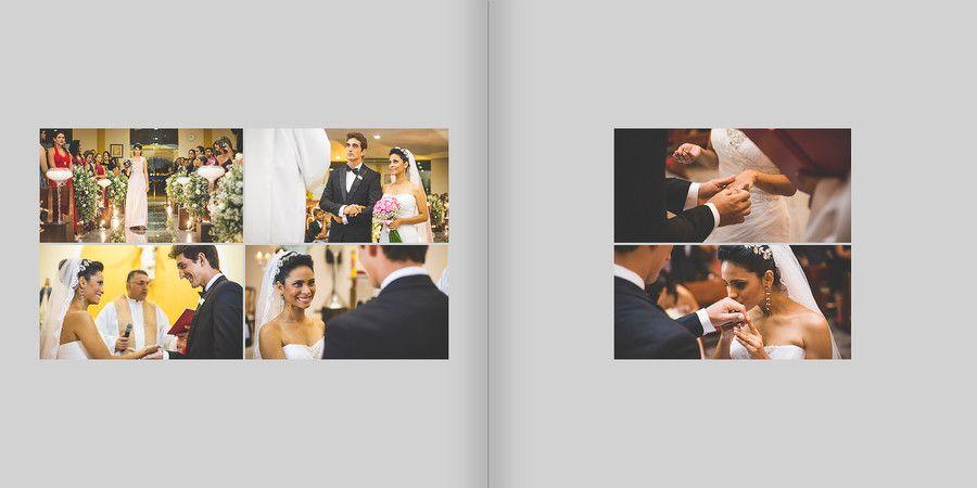 Poliana & Thiago - Casamento - Blog - ALINE B | design de álbuns