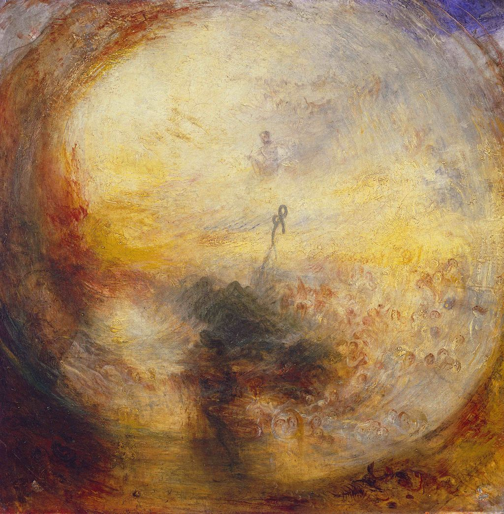 William Turner Xviiie Xixe Siecle Le Matin Apres Le Deluge