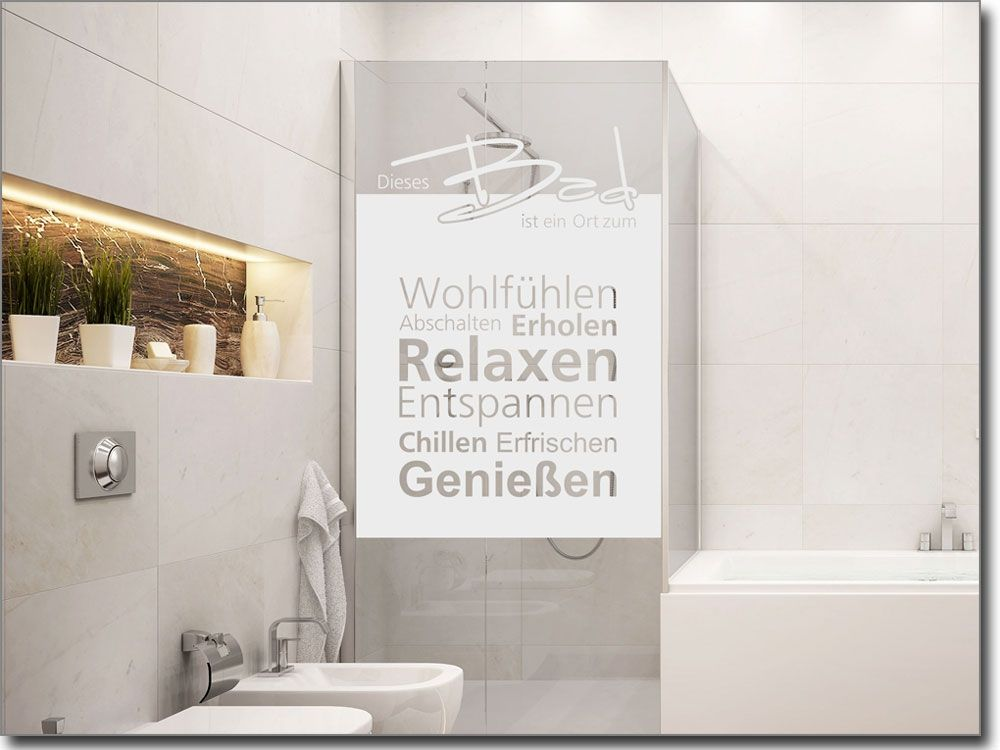 Great Badezimmer Fensterfolie Images >> Fensterfolie Badezimmer ...