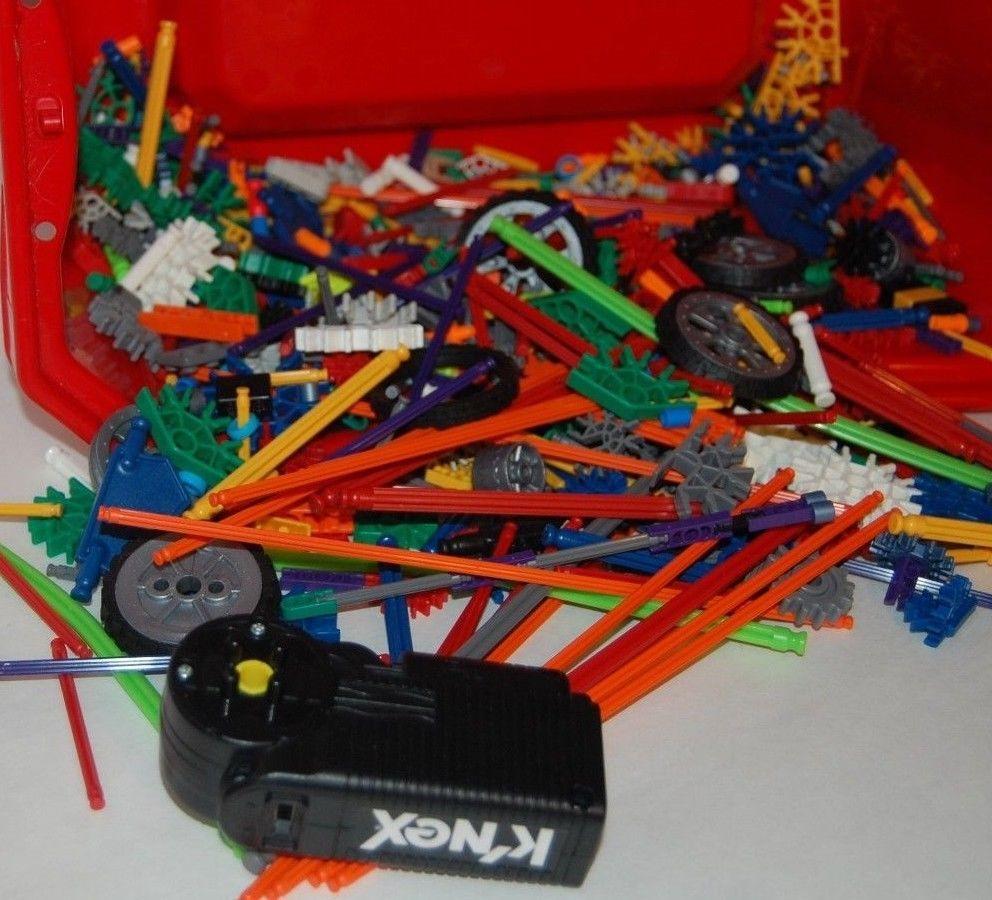 Knex Knex Tub Huge Assortment Bulk Lot Manual Instructions Motor