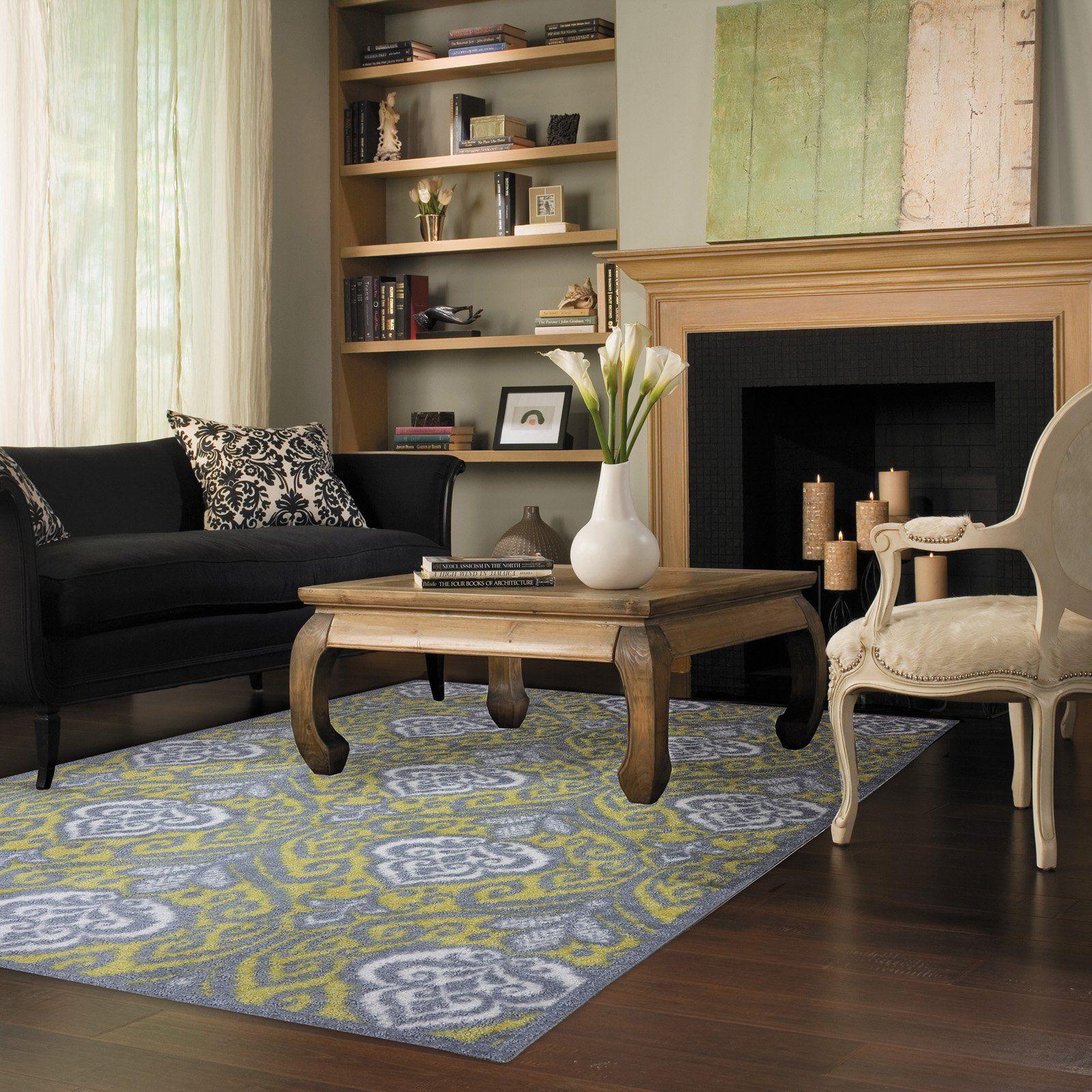Have to have it. Mohawk Home Elegant Ikat Rug 163.99