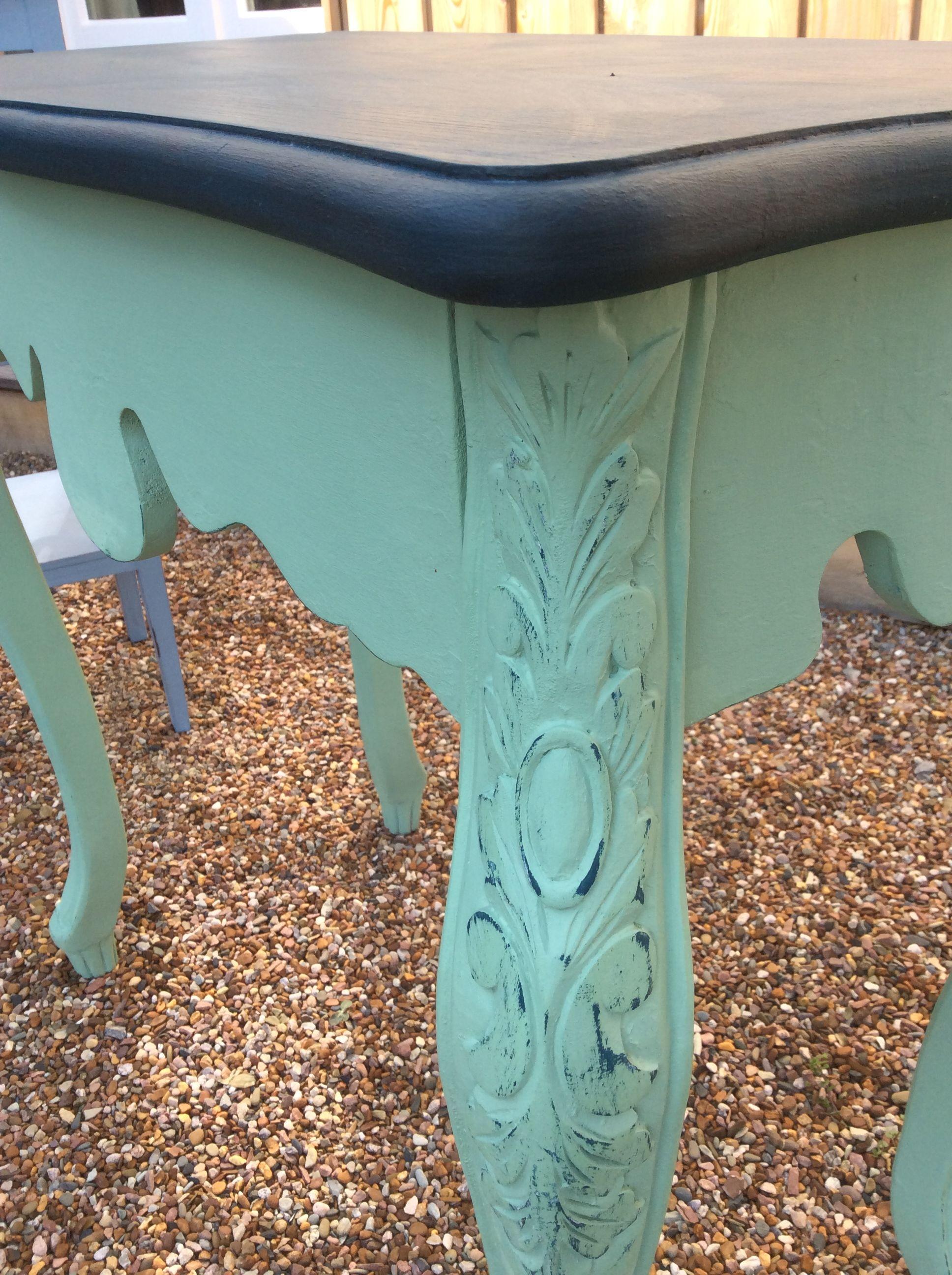 Tisch im Shabby-Look! Gestrichen in meinen Farben \'Hope\' und ...