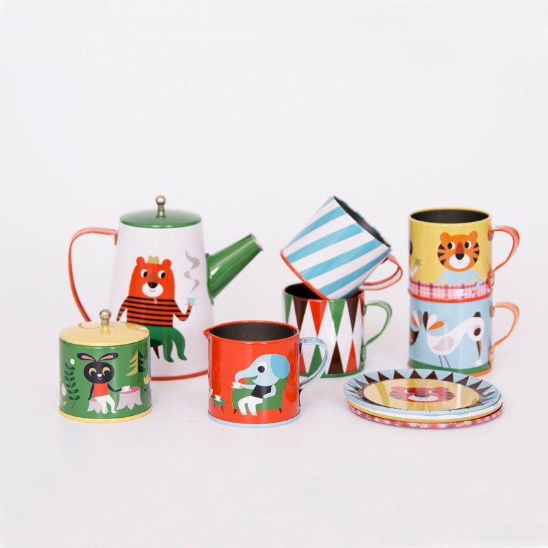 Zauberhaftes Kinder Tee Service, 13-teilig, Ingela P Arrhenius - design des projekts kinder zusammen