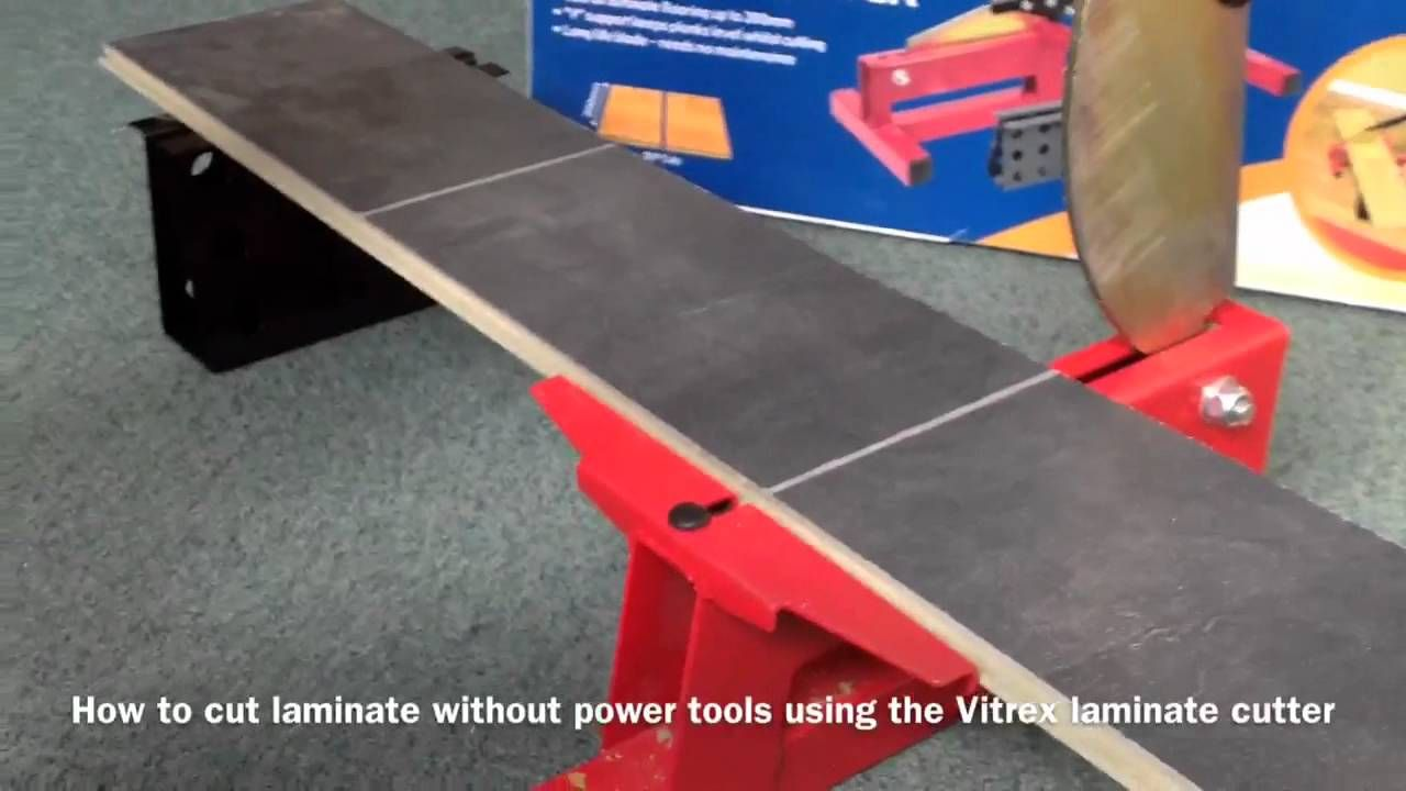 How To Quickly And Easily Cut Laminate Flooring Without Power Tools