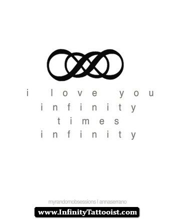 Pin by Destiny Beach on My soulmate... | Double infinity tattoos ...