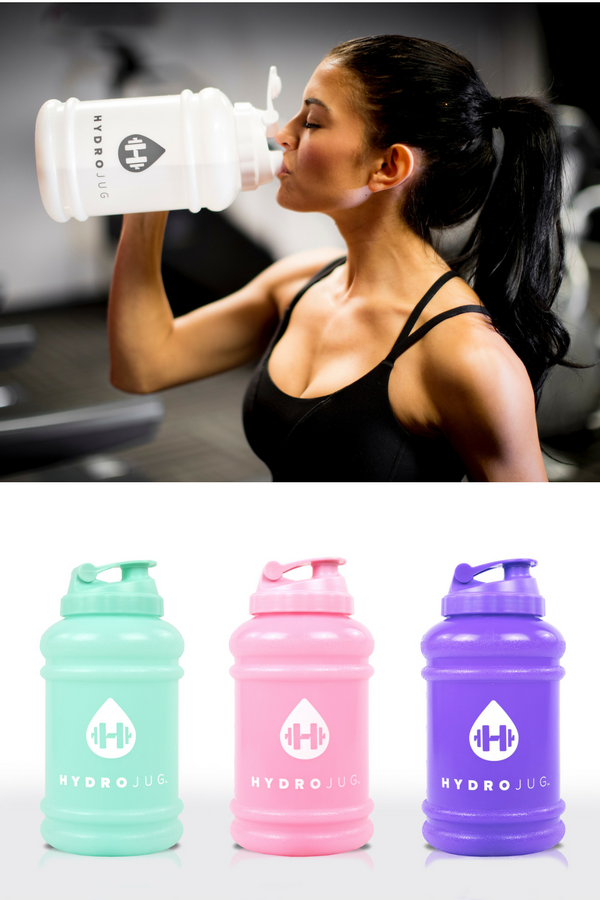 Hydrojug Is A 1 2 Gallon Bottle That Helps Fitness Lovers Drink Plenty Of Water Each Day Our Customers Love Taking Their Jugs With T Get Fit Fitness Excercise