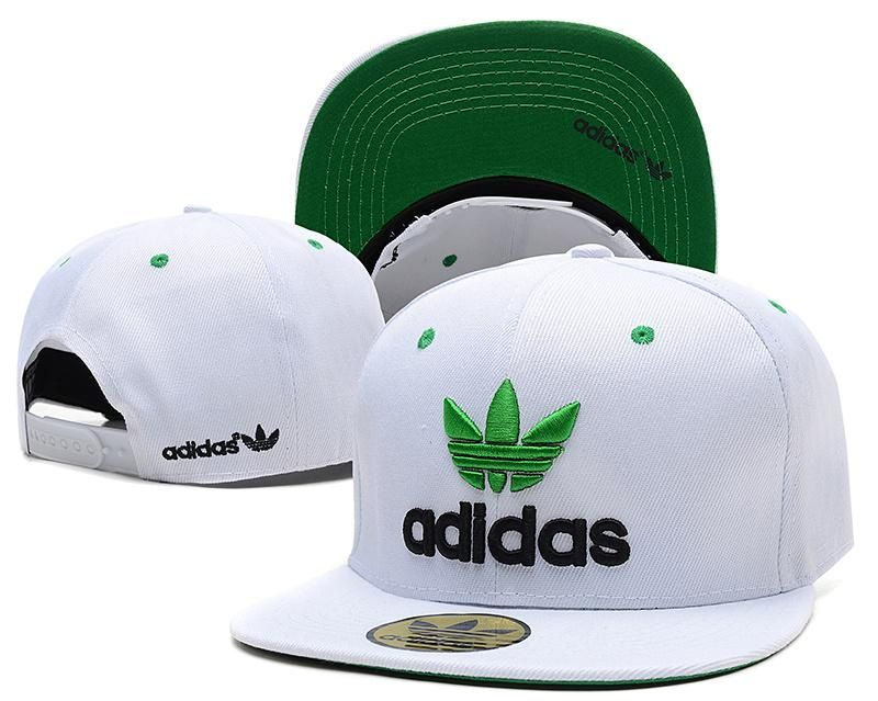 Mens Adidas Originals Thrasher Clover Logo Embroidery Front Best Quality  Retro Baseball Snapback Cap - White   Green   Black 4926663a566