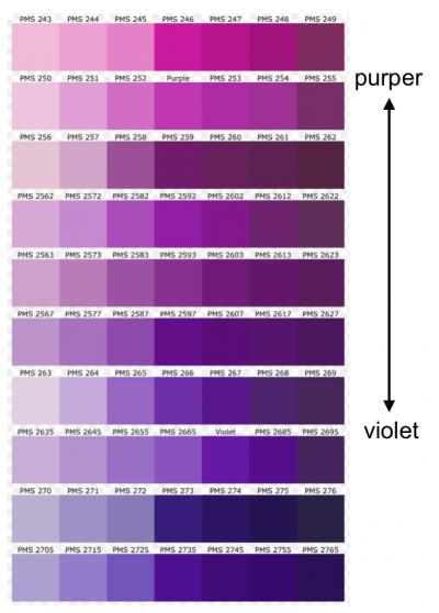 Paars Kan Koel En Warm Zijn Vs Cool Colors Purple Love Rain
