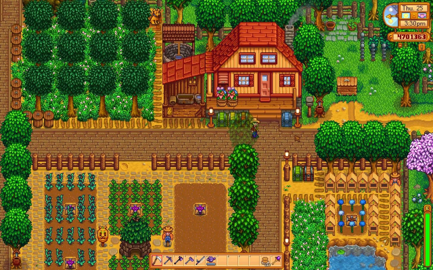 Farmhouse Stardew Valley House Decoration Ideas ...