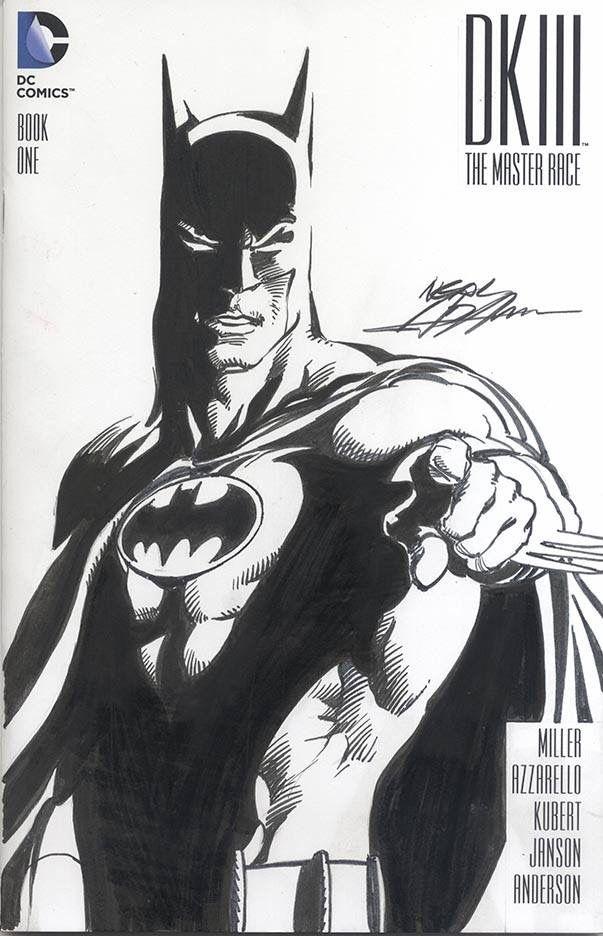 DK III Batman sketch cover   Neal Adams