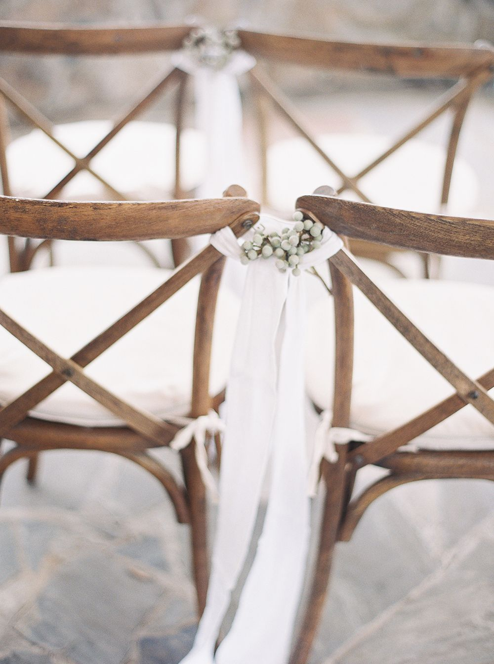 Decor for chairs wedding Alchemy Inspired Wedding Editorial  Wedding chairs Wedding and