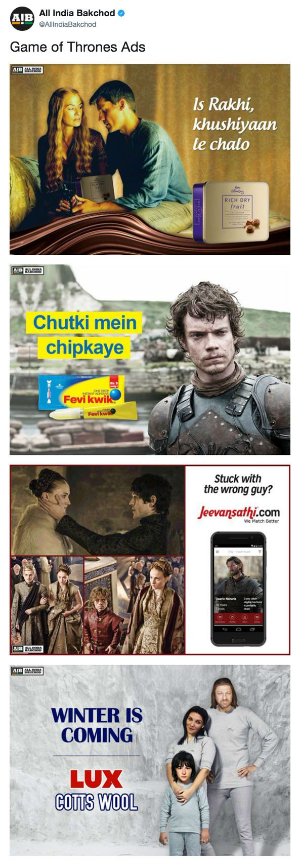 17 Hilarious Jokes Only Indian Game Of Thrones Fans Will Find Funny Funny Games Game Of Thrones Meme Game Of Thrones Funny