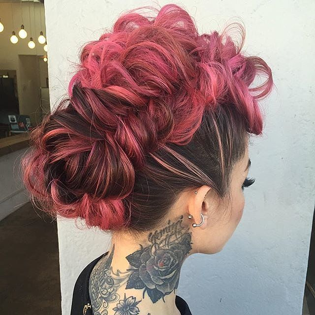 46 Valentines Day Hair Color Ideas So Dreamy Youll Dye Hair