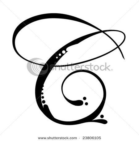 Letter C Script I Want This In A White Tattoo On My Wrist