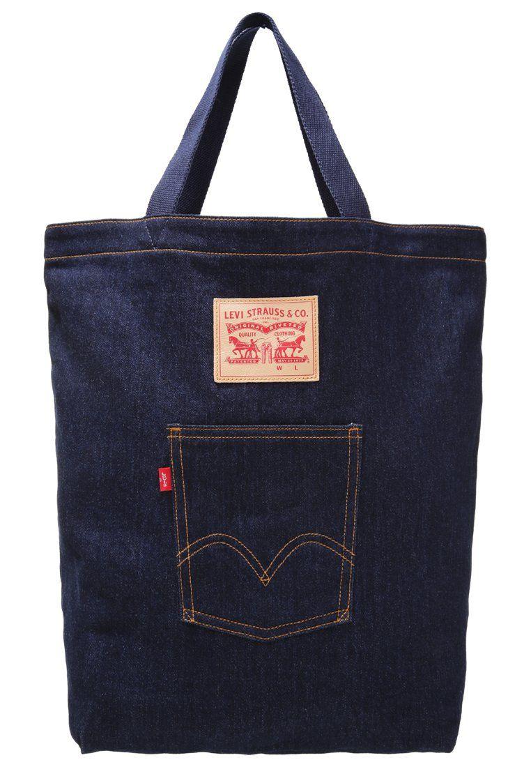 f5f4250ebefc7 Levi's® Torba na zakupy jeansowa dark blue | Jeans, Denim - FashYou ...
