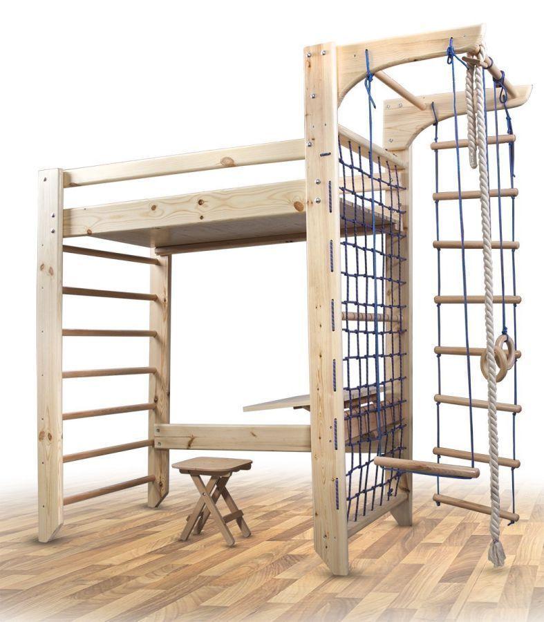 spielbett enjoy it hochbett kinderbett abenteuerbett. Black Bedroom Furniture Sets. Home Design Ideas