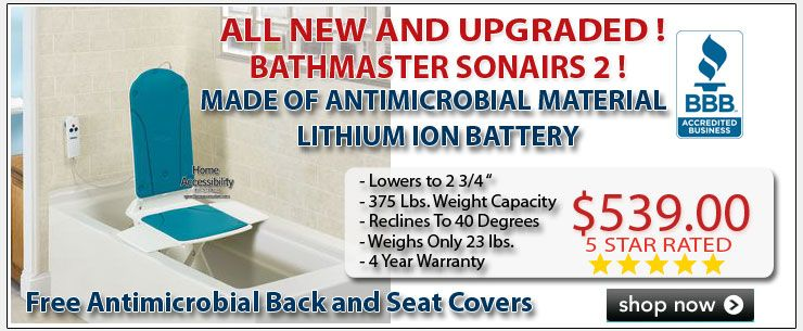 The Bathmaster Sonaris 2 Reclining Bath Lift features advanced ...
