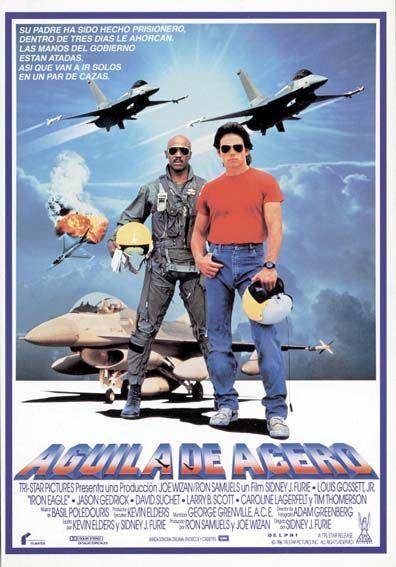 Aguila De Acero 1986 Tt0091278 C Iron Eagle Original Movie Posters Movie Posters