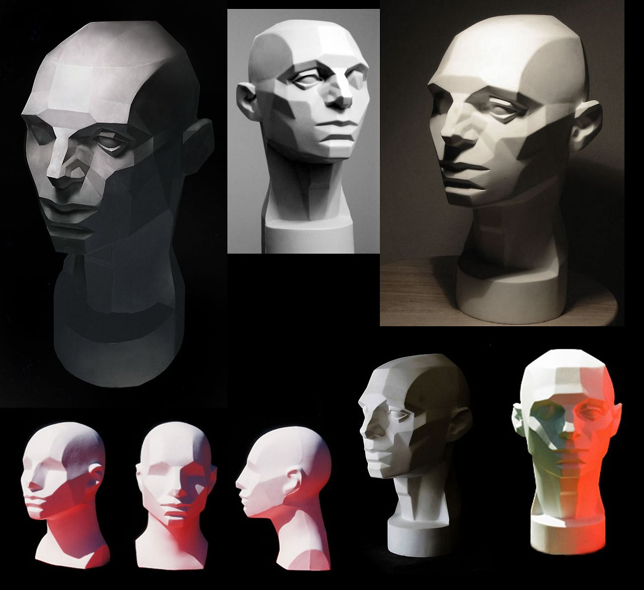 Pin By Meredith Alden Lewis On Reference Images Art Portrait Drawing Planes Of The Face Art Reference