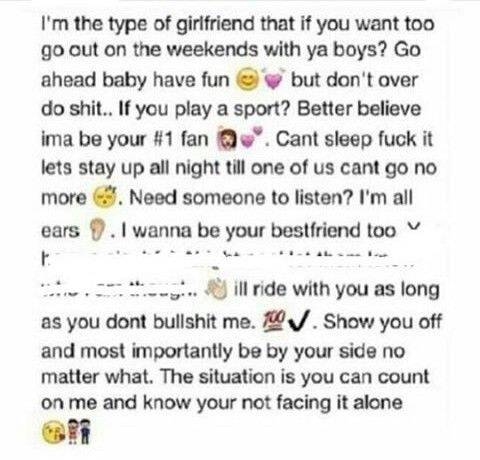 I M Just That Type Type Of Girlfriend Cute Love Quotes Love And Marriage