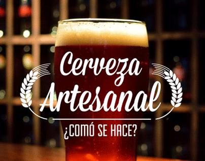 """Check out new work on my @Behance portfolio: """"¿Comó se hace la Cerveza Artesanal?"""" http://on.be.net/1OS7qz0"""