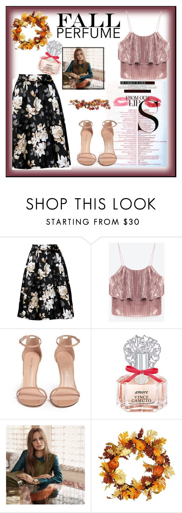 """""""fall chic"""" by stephaniejoseph061 on Polyvore featuring beauty, MAC Cosmetics, Stuart Weitzman, Vince Camuto and Nearly Natural"""