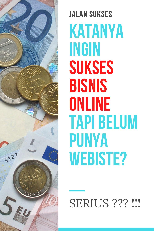 Rahasia Sukses Bisnis Online | Pemula Pun Bisa Jadi Kaya ...