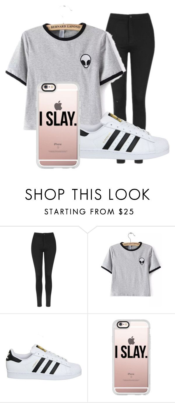 7th Grade By Lolidontcare On Polyvore Featuring Topshop Adidas