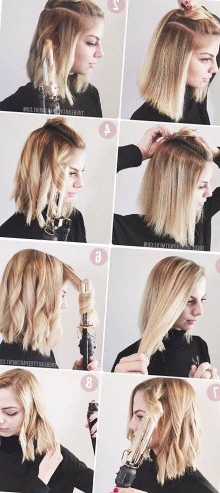 Coiffure Facile Cheveux Mi Long Degrade Le7emecontinent
