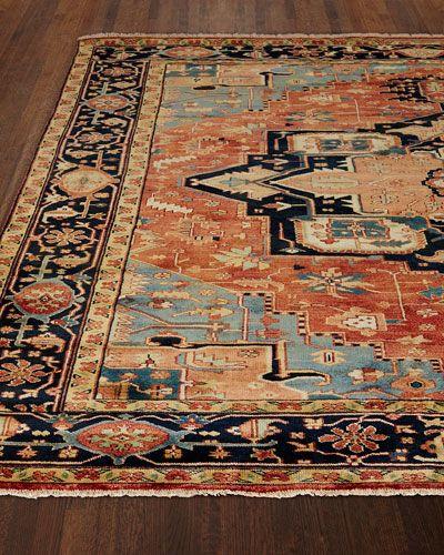 Exquisite Rugs Rosso Fine Serapi Rug 10 X 14 In 2020 Serapi Rug Exquisite Rugs Rugs