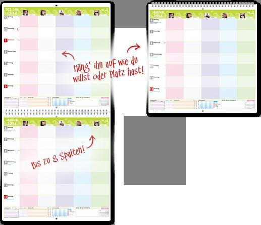die besten 25 familienkalender selbst gestalten ideen auf pinterest geburtstagskalender. Black Bedroom Furniture Sets. Home Design Ideas
