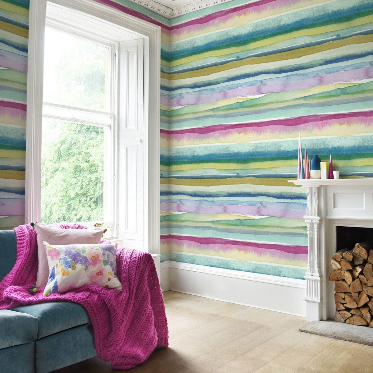 Lomond Extra Wide Wallpaper By Bluebell Gray