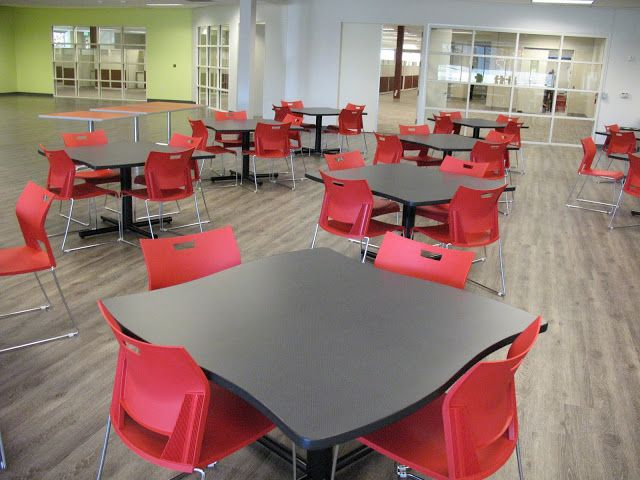Commercial Work Surfaces Tables And Chairs For Breakroom Or Lunchroom