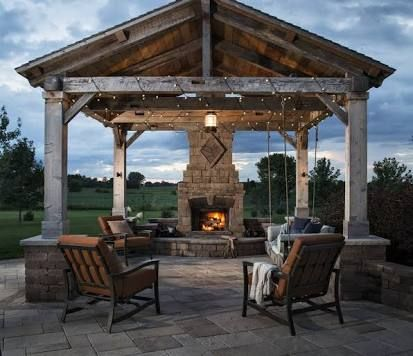 Image result for another name for pergola | Rustic outdoor ...