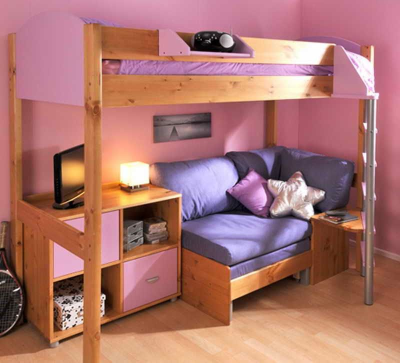 Bunk Bed With Sofa Underneath Google Search Home Decor Design