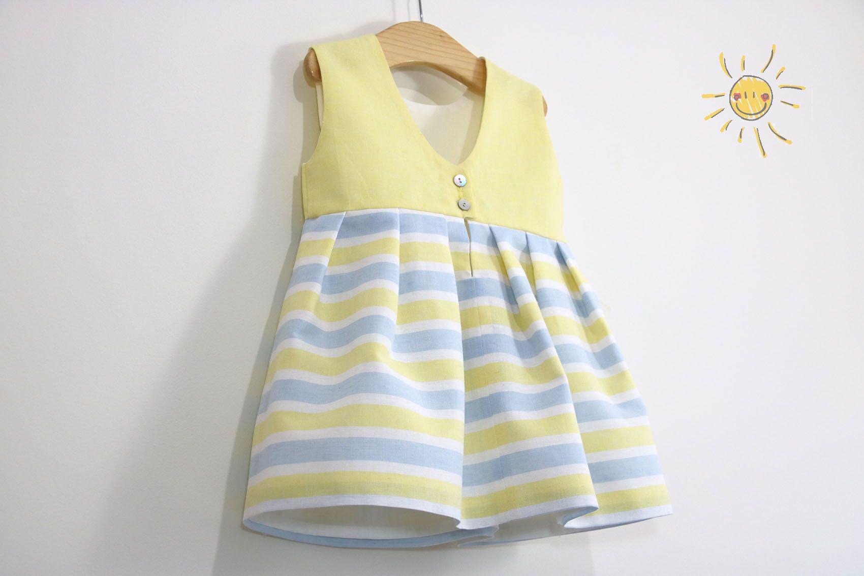 6dd6acdc1 Costura  Vestido niña (patrones gratis talla hasta 8 años)