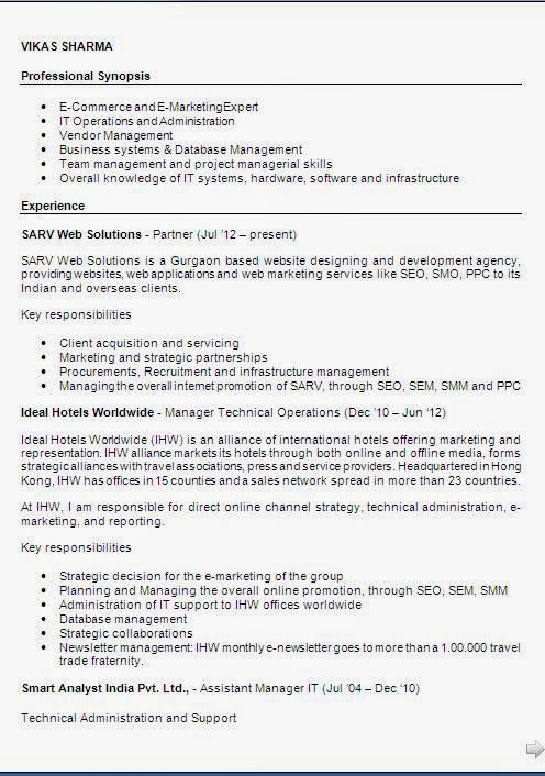 Objective In Resume For Freshers In It Best Vosvetenet – Objectives of Resume for Freshers