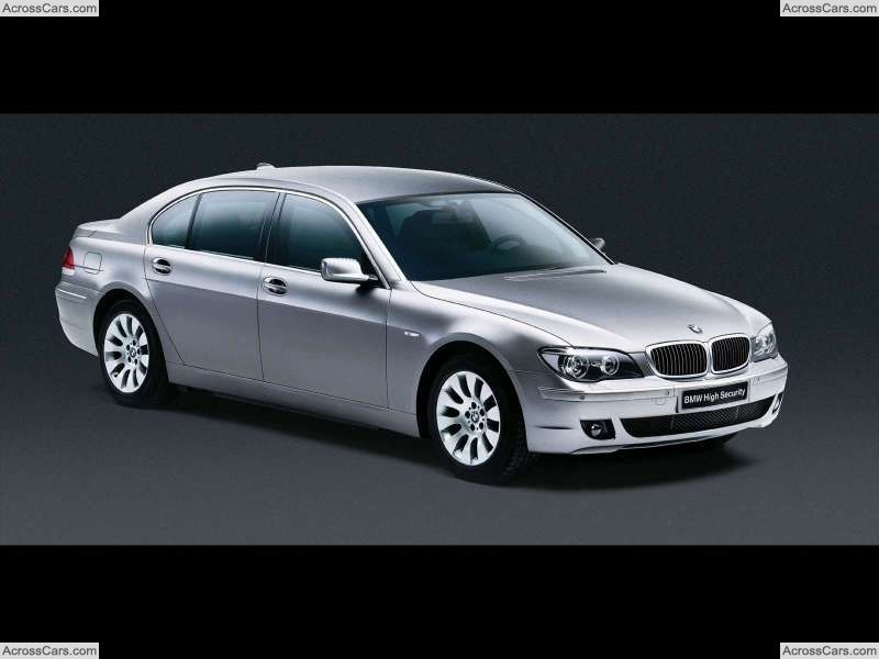 BMW 7 Series High Security (2006) | Coches Sedan/Berlina | Pinterest ...